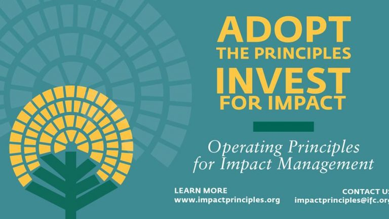 Operating Principles for Impact Management